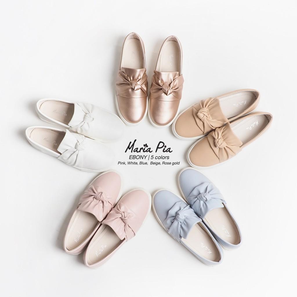 Maria Pia รองเท้าสลิปออน Ebony Slip On M55-