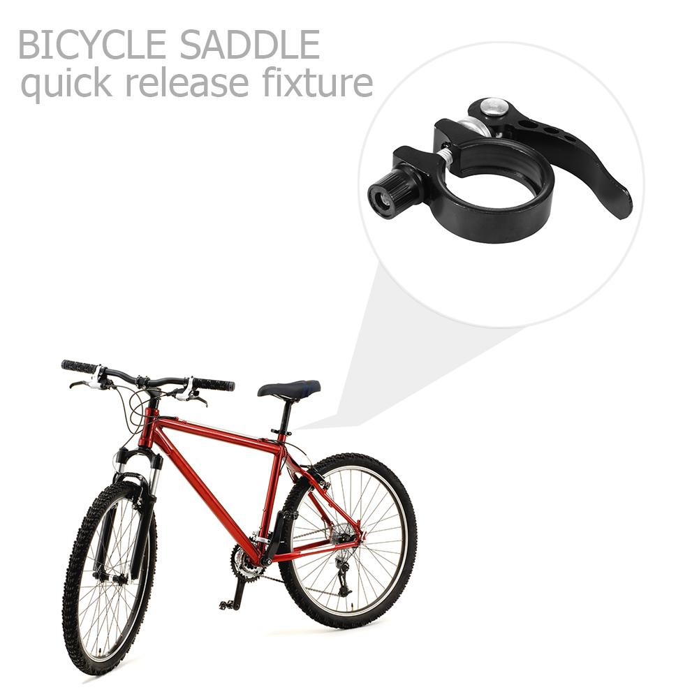 HOT Bicycle Cycling Mountain Bike Quick Release Saddle Seat Post Clip Clamp NEW