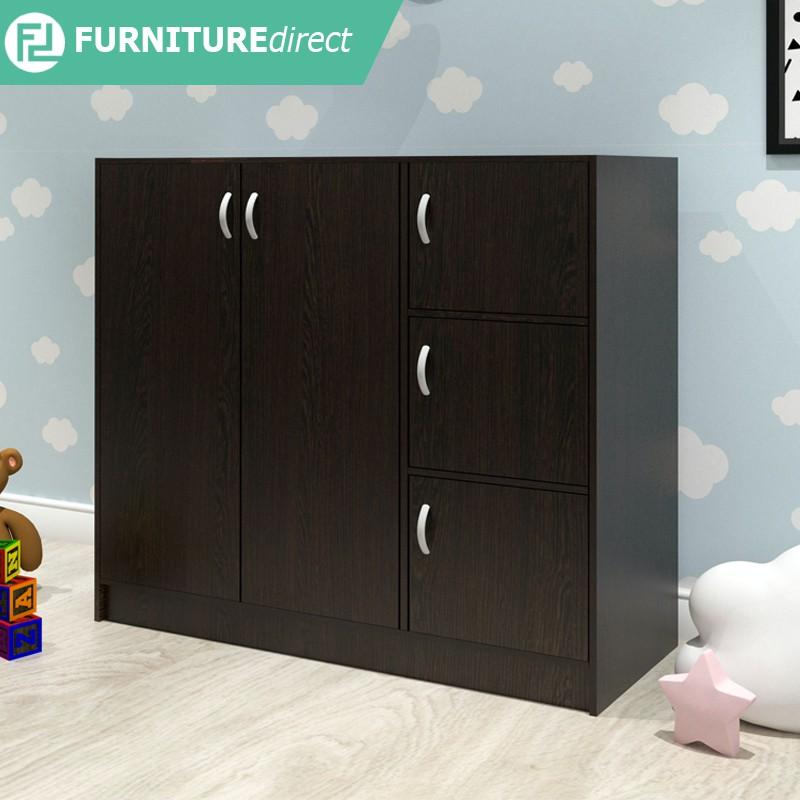 [ Ready Stock ] Furniture Direct BARRY children wardrobe cabinet almari baju budak murah ikea kayu pakaian