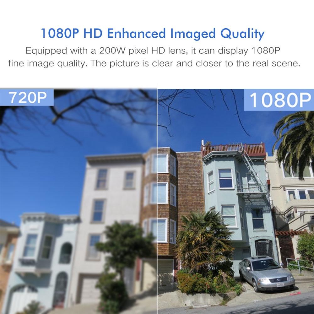 YCC365 IP Camera PTZ Outdoor HD 1080P Pan Tilt ZoomWiFi Camera CCTV  Waterproof IP66