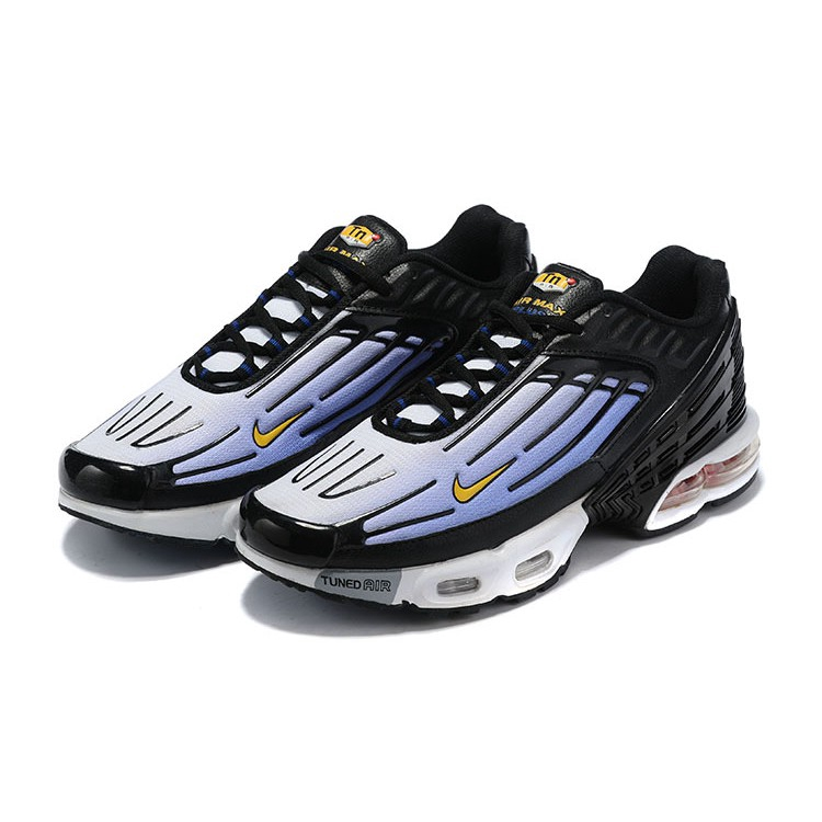 hot sales good out x the best attitude Nike Air Max Plus TN Tuned Black Blue Comfort Breathable Running Shoes for  Men Women