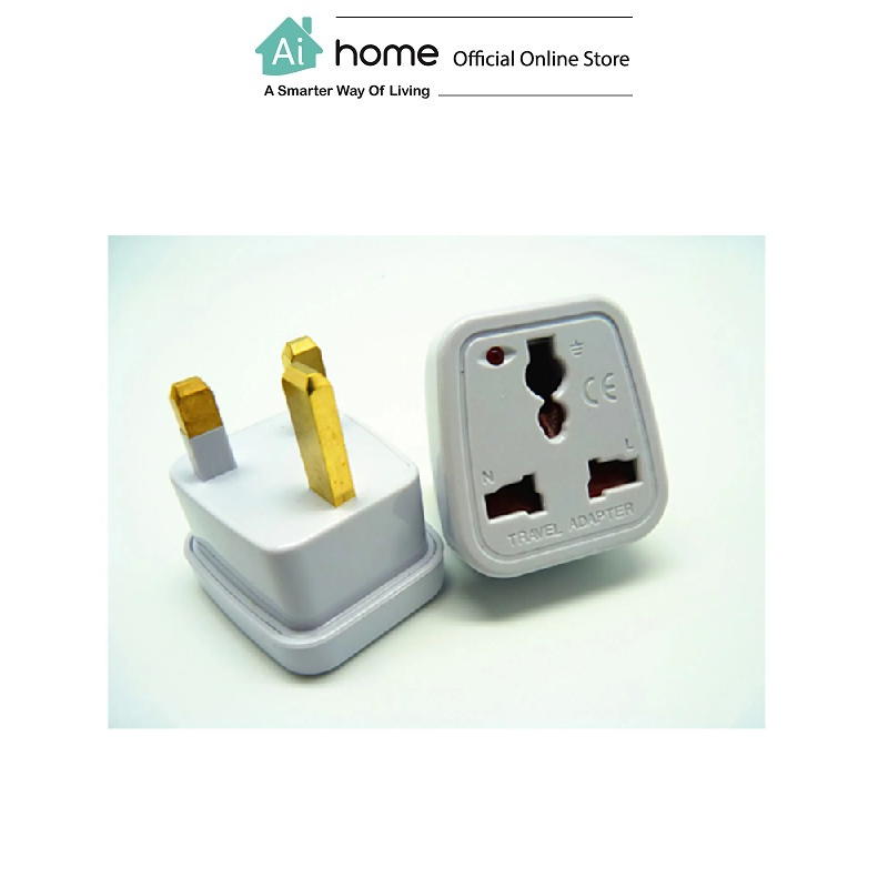 SOUNDTEOH Travel Adapter OP-13 with 1 Year Malaysia Warranty [ Ai Home ]