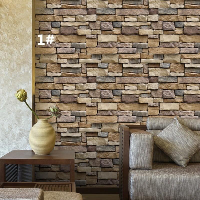 brick mosaic kitchen bathroom foil beauty 3d wallpaper sticker tile