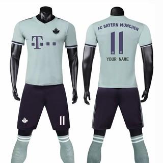 buy online 41b48 a2ed8 Custom 1819 FC Bayern Munich Football Club away football ...