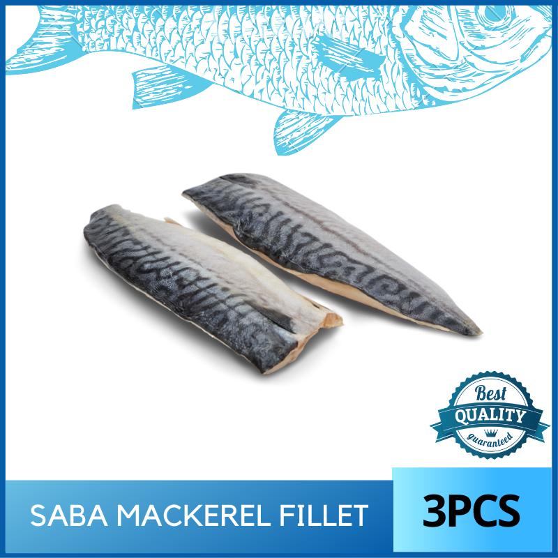 Saba Mackerel Fillet - 3pcs Norway Import Food