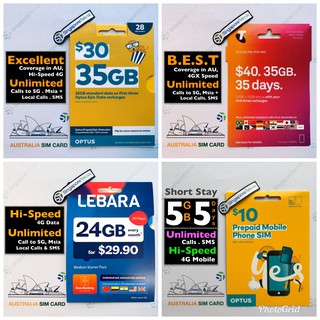 24GB Australia Prepaid SIM CARD 30Days Vodafone Lebara Mobile Data 4G 3G  Starter No Need Pocket Wifi Dataroam