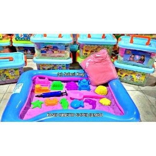 2KG KINETIC SAND with TRAY and ACCESSORIES