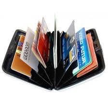 -MALAYSIA READY STOCK- AYNEW Security Alumunium Wallet CreditCard Cash Money ID Holder Card Wallet Men Women Wallet SM01