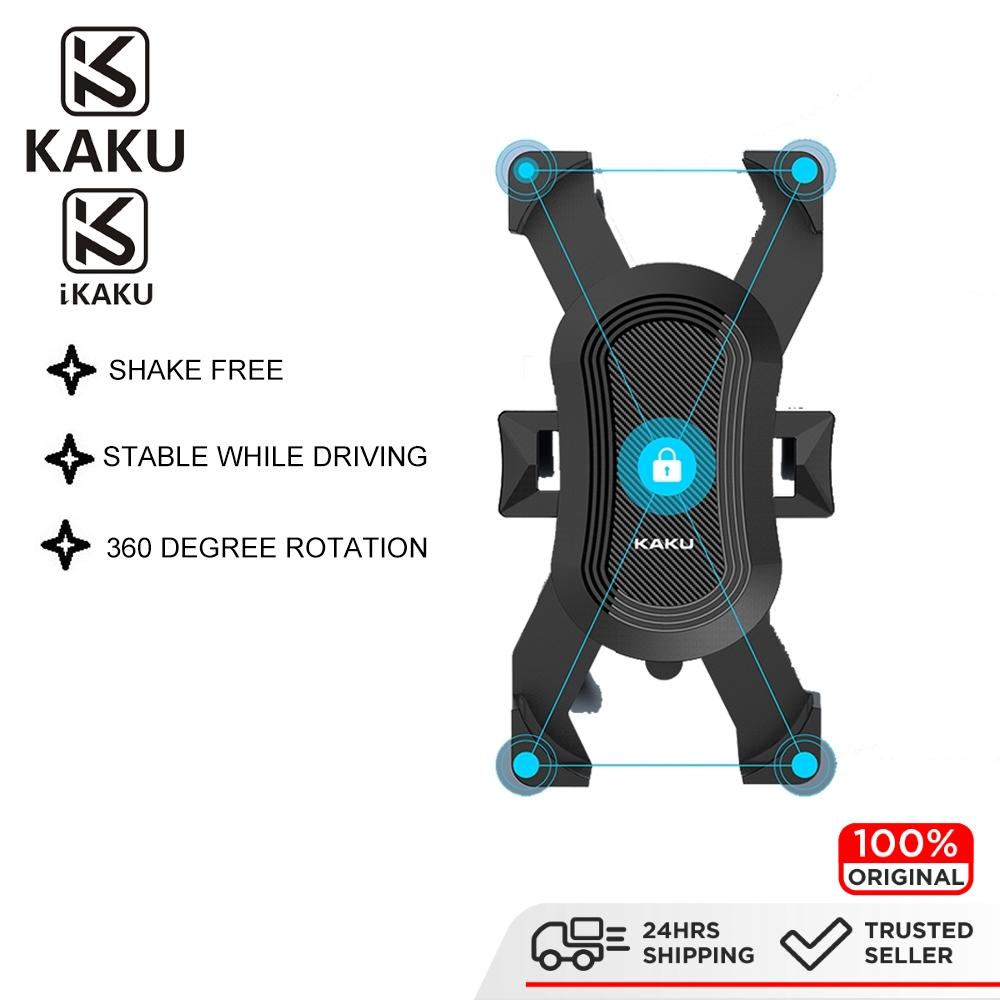 IKAKU KAKU QINGQI Motorbike Mount Phone Holder Motor Bicycle Bike Motorcycle Smartphone Universal Samsung Huawei Oppo