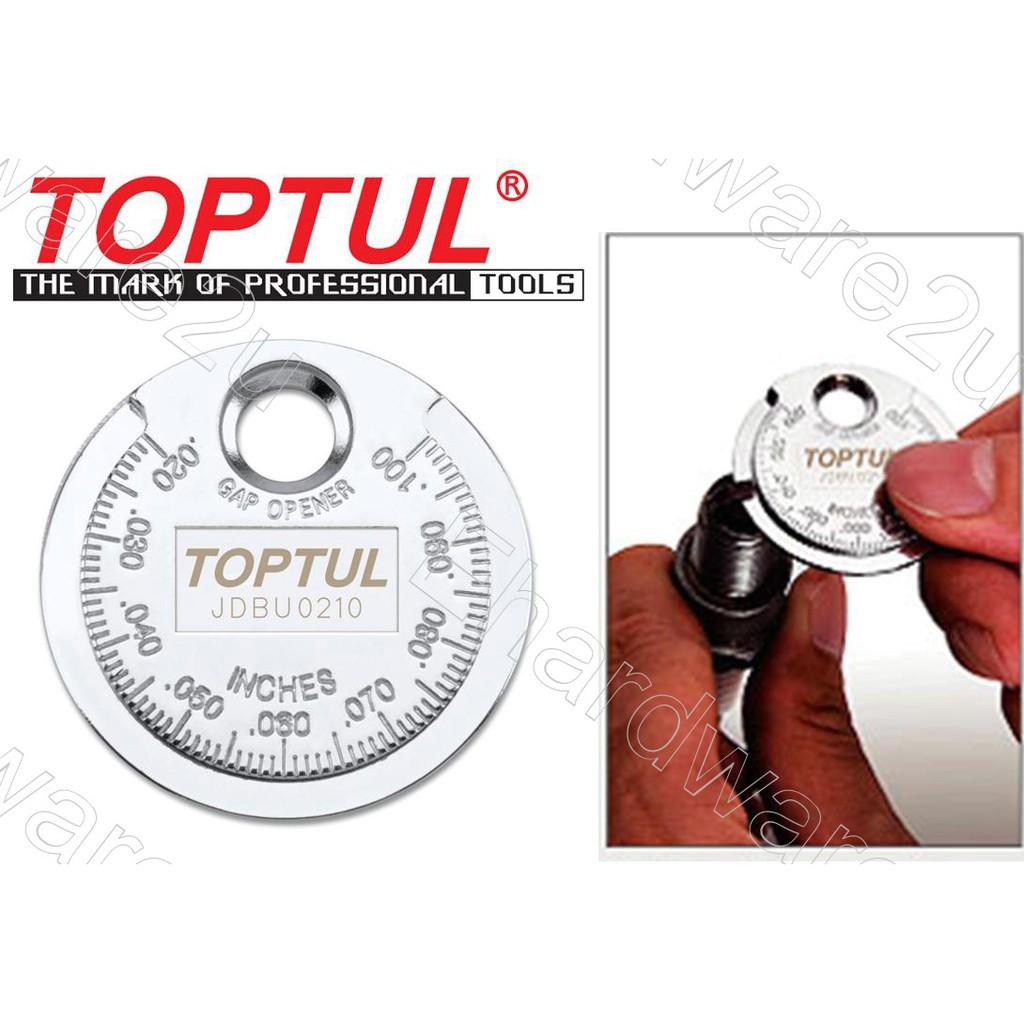 Toptul Spark Plug Gap Gauge (Coin Type) JDBU0210