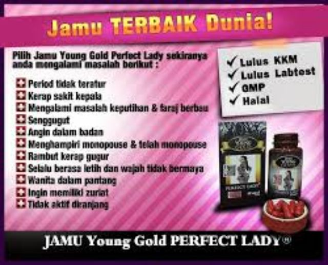 Jamu Young Gold