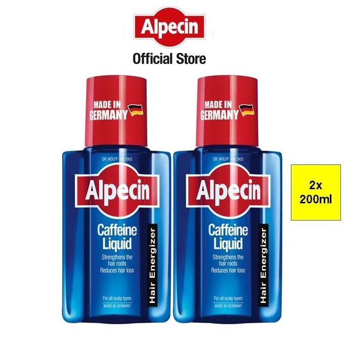 Alpecin Caffeine Liquid (200ml x 2 Pack)