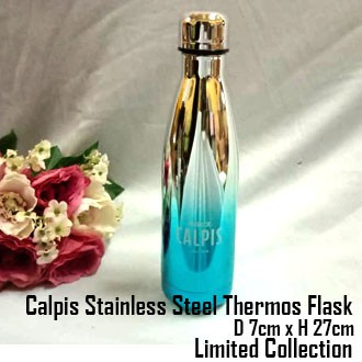 Limited Edition Calpis Stainless Steel Thermos Flask