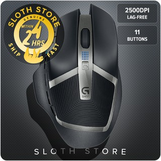 53c1af8598a Logitech G602 Lag-Free Wireless Mouse, 11 Buttons, Up to 2500 DPI GENUINE |  Shopee Malaysia