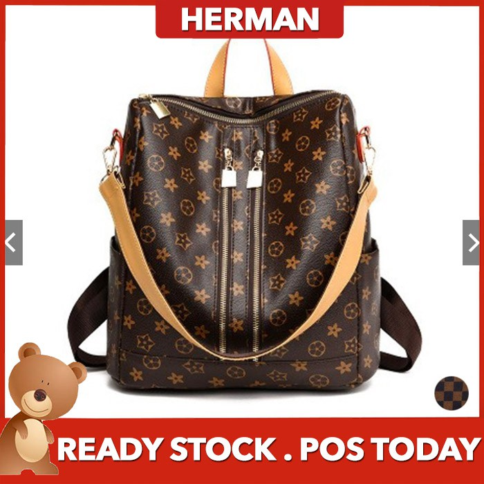 ed4201b0984c READY STOCK😍HERMAN Grand Star Shoulder Backpack Bag Beg Bags Travel Tote  Pack