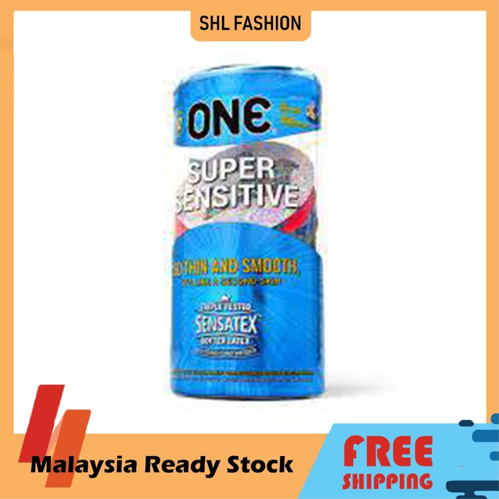 ONE Condoms Super Sensitive 12pcs Kondom SHL Ready Stock 安全套 避孕套