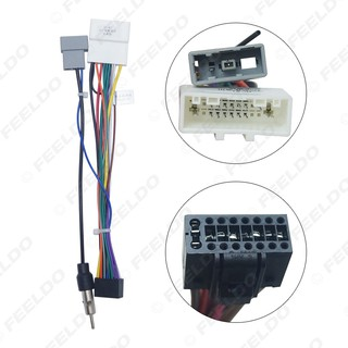 16P Car Head Unit Wire Harness Adapter For Nissan OEM Car ... Head Unit Wiring Harness Adapter on