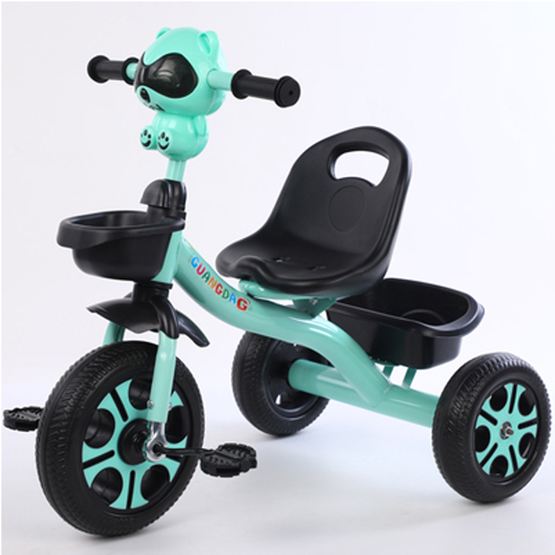 GDeal Children Tricycle With Music and Light For Children Baby Kids Bicycles Strollers