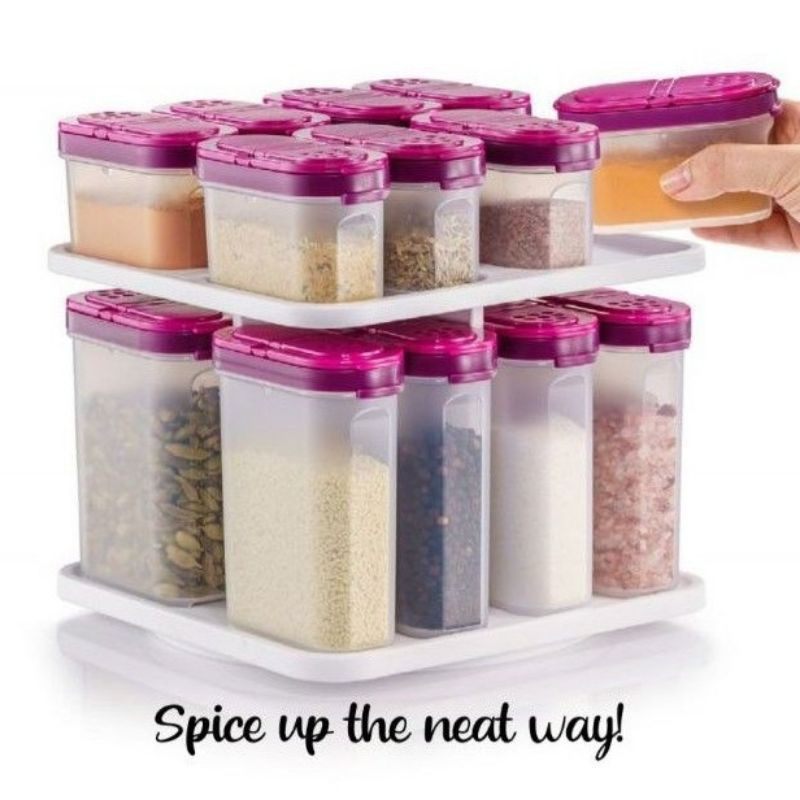 Tupperware modular spice set[set rempah ratus dan herba]