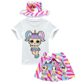 2PCS Kids Girls Boys PJs Sets Plain Color Cotrast Pajamas Set Age 1-8 Years UK