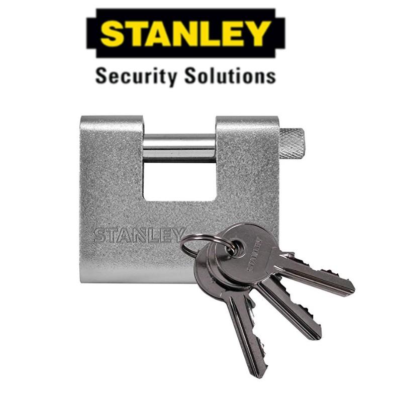 STANLEY S824-630 ARMORED PADLOCKS 80MM SECURITY LOCK
