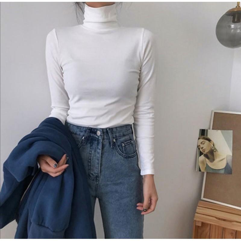 Neck bottoming shirt