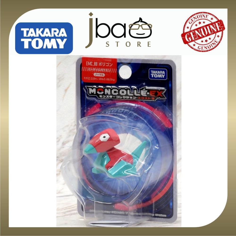 Takara Tomy Monster Collection EX EMC-08 Porygon Pokemon Moncolle