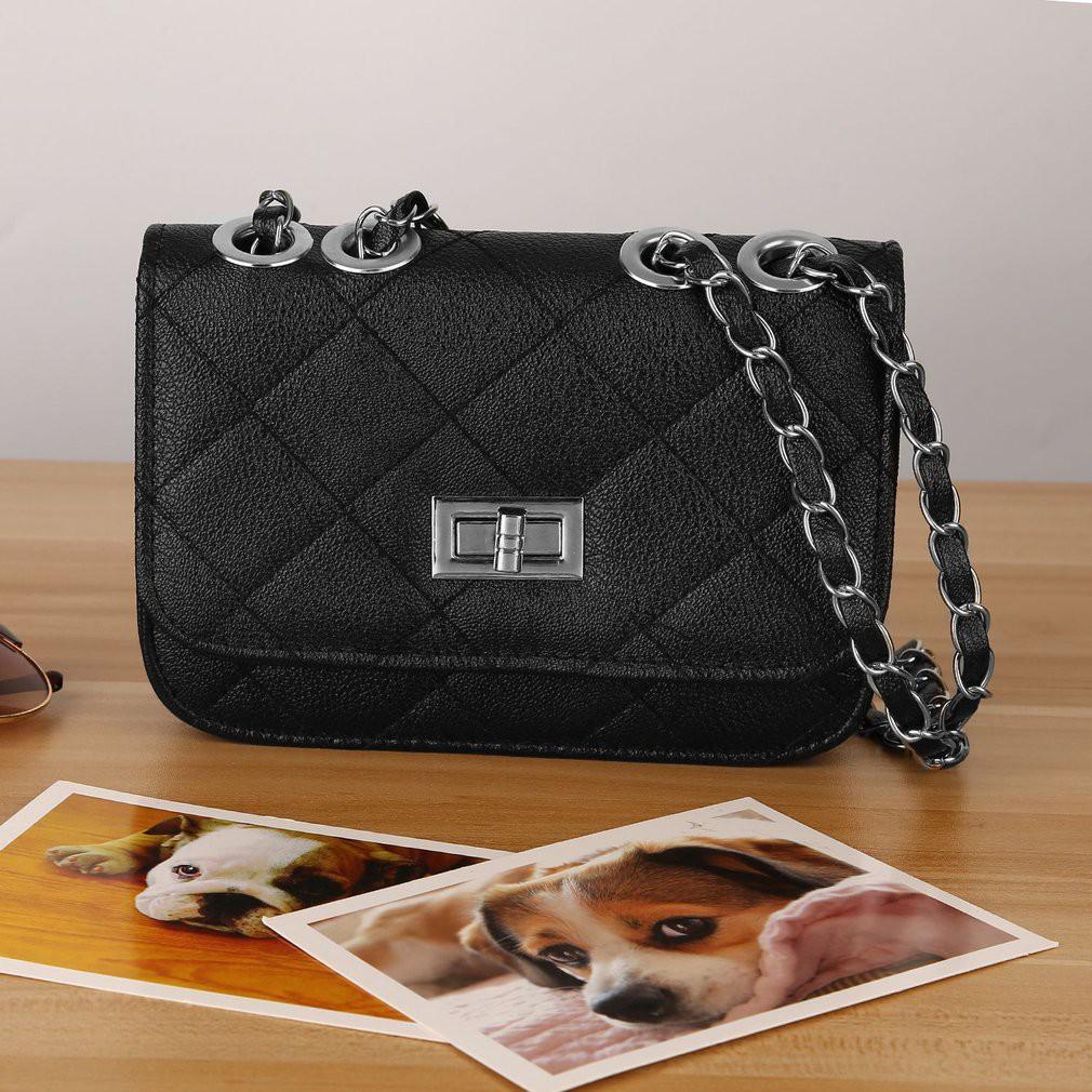 da1a85e0f9d8 Fashion Women Messenger Bags Chain Shoulder Bag