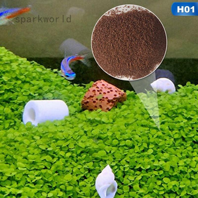 sparkworld Quick Aquatic Seeds Water Grass Leaf Live Plant Fish Tank  Decoration Landscape
