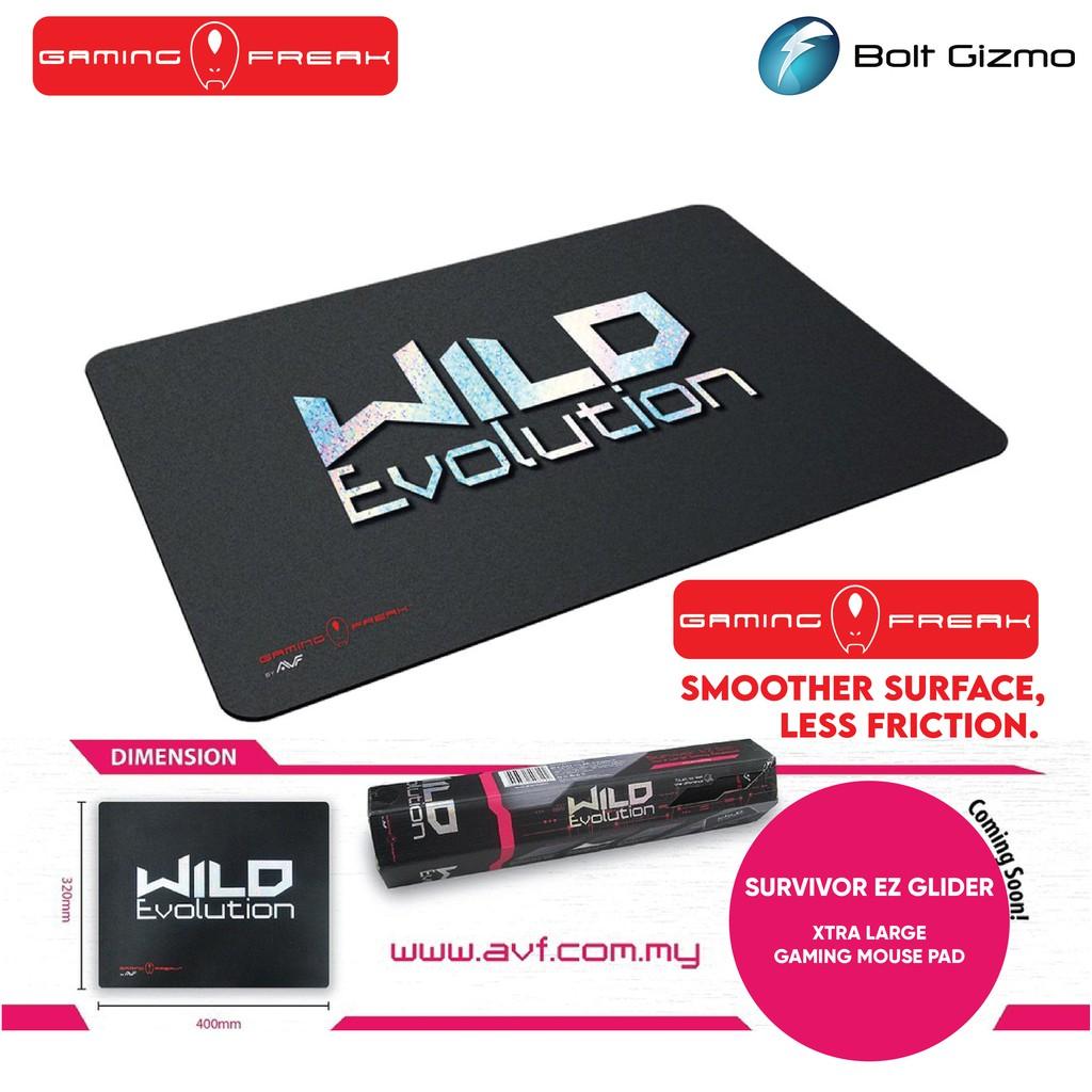 AVF Gaming Freak Wild Evolution Xtra Large Gaming MousePad 32cm x 40cm Mouse pad Mice Matt Extra Large GF-MPWILDEVO