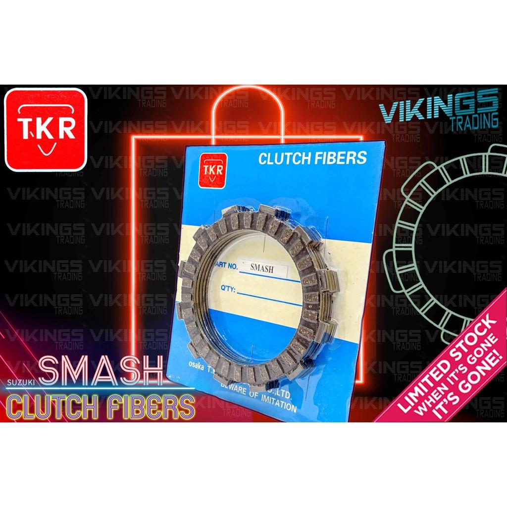 SMASH 110 SUZUKI CLUTCH FIBERS DISC PLATE 5PCS