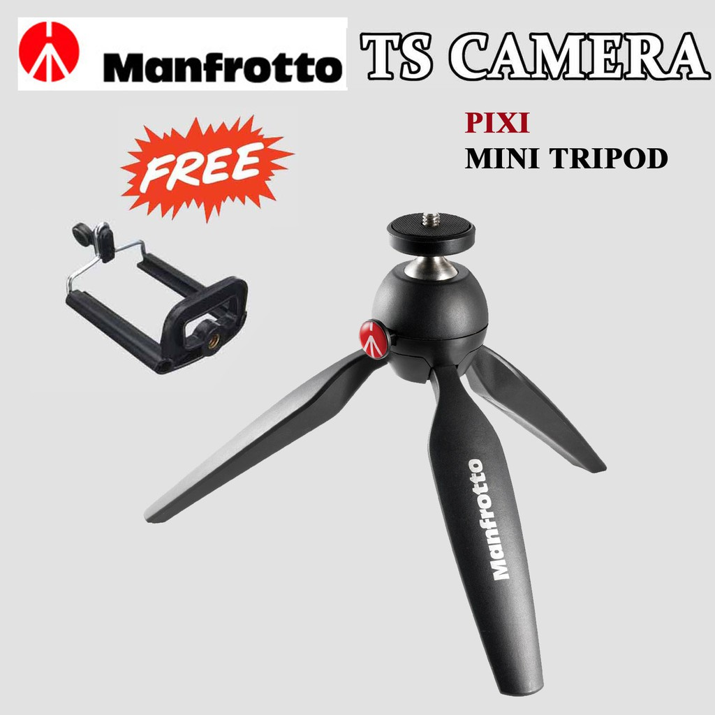MANFROTTO PIXI MINI TRIPOD MINI TRIPOD FOR CAMERA AND MOBILE PHONE