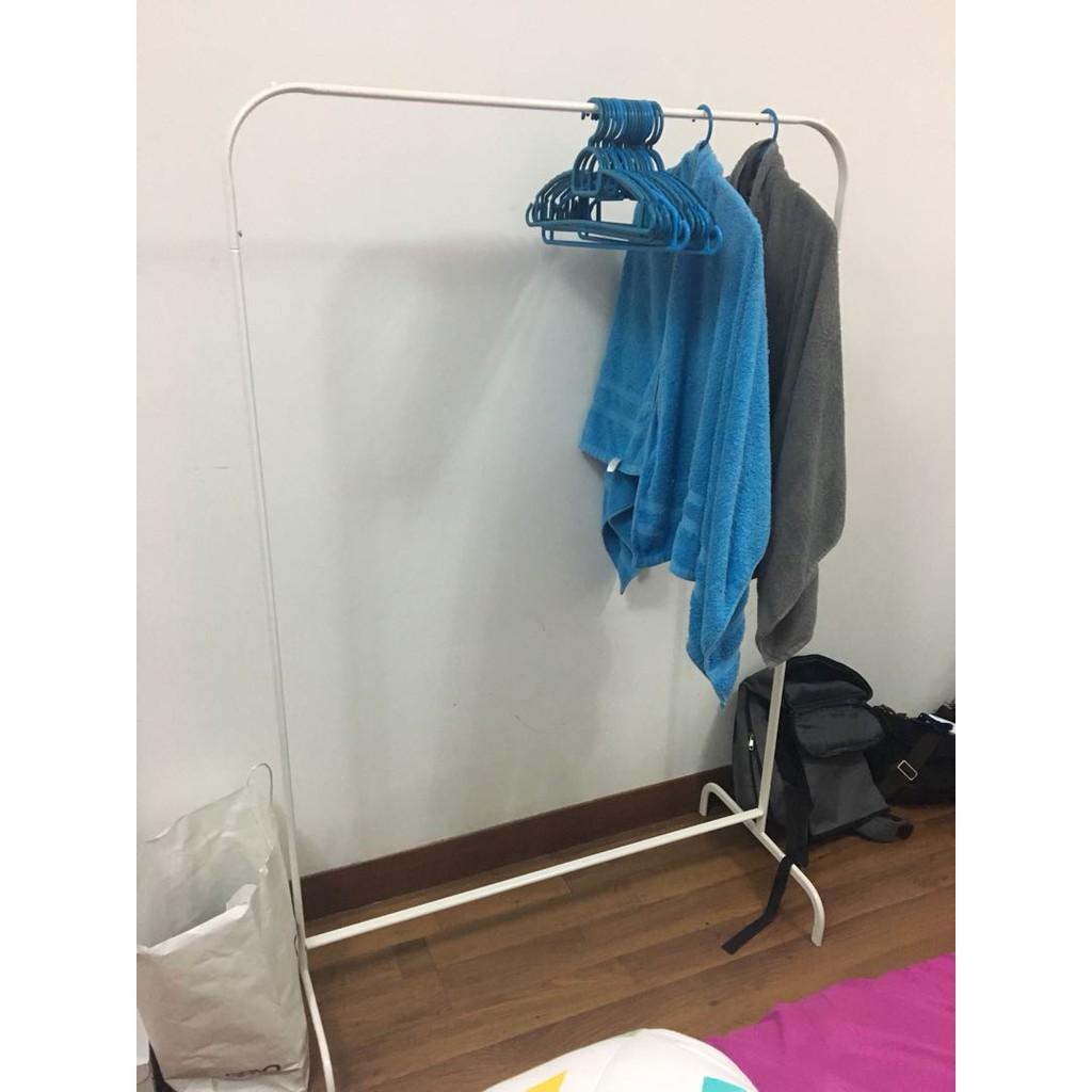 Ikea Mulig Clothes Rack White Rak