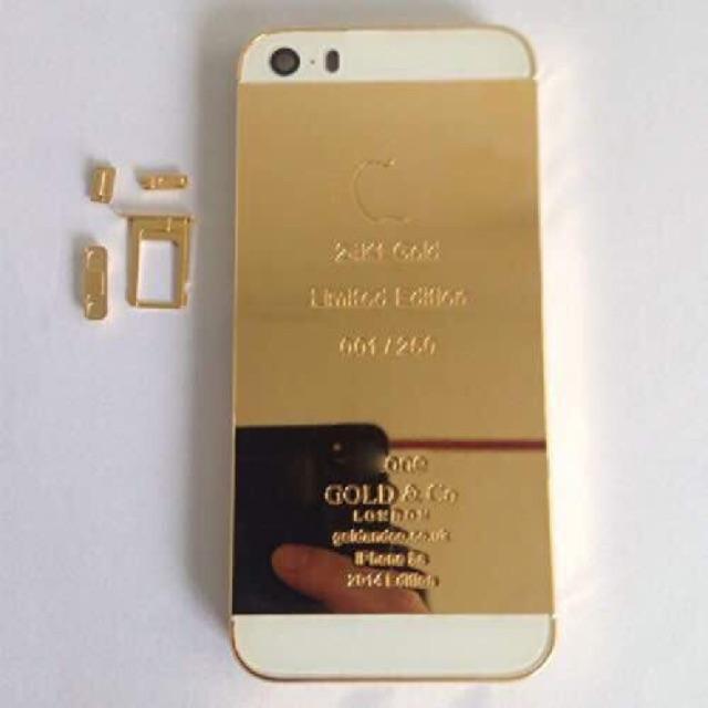 size 40 8d90c dd85d IPHONE 5/5S 6plus 24k GOLD EDITION
