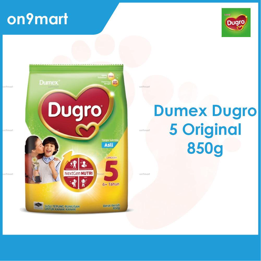 Dumex Dugro 5 Plain 6+ Years 850g Milk Powder