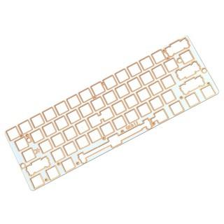 Diamond 60/% CNC Anodized Aluminium case Acrylic Case for 60/% 64 Mechanical Keyboard for GH60 Bluetooth Gk61 GK64 DZ60 YD60MQ