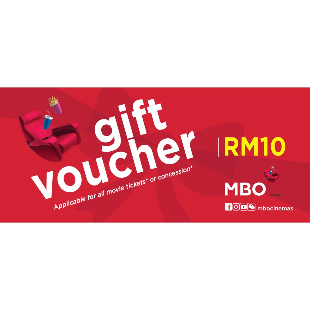Mbo Cinemas Gift Voucher Rm10 E Voucher Code Shopee Malaysia