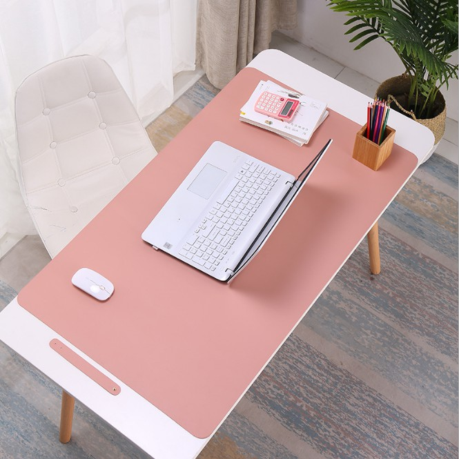 Large Desk Mat Double-Sided Writing Mat Gaming Mouse Pad