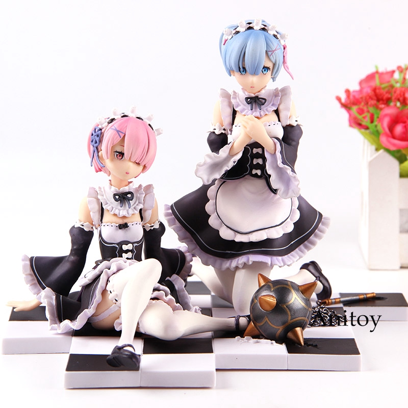 Re Life In a Different World From Zero Rem Ram Emilia Sitting Ver Figure NB