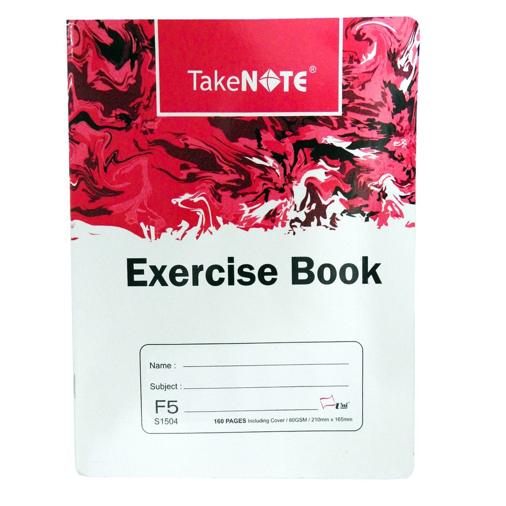 Take Note Exercise Book F5 (60g x 160 Pages)