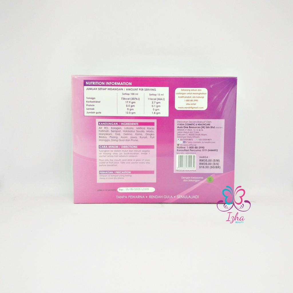 [V'ASIA] Ladies Collagen (sachet) - 13 sachet x 20ml