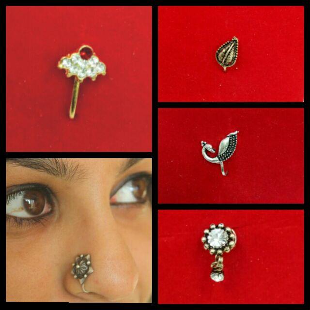 Elegant Nose Pin Ring Shopee Malaysia