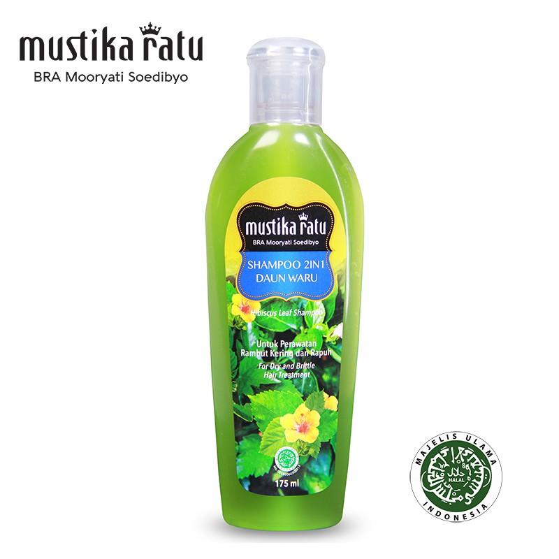 Mustika Ratu Shampoo Daun Waru For Dry & Brittle Hair (175ml)
