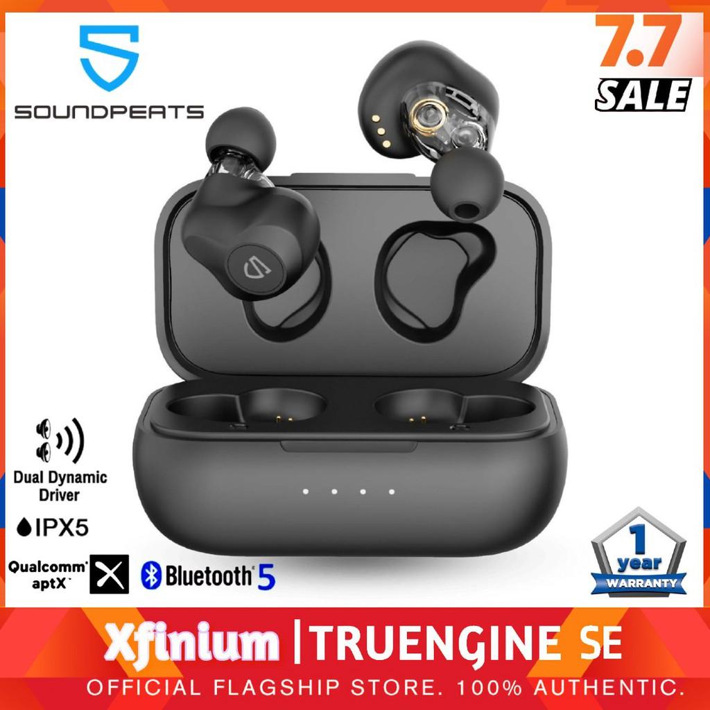 SoundPEATS TruEngine SE True Wireless Earbuds with Dual Dynamic Drivers