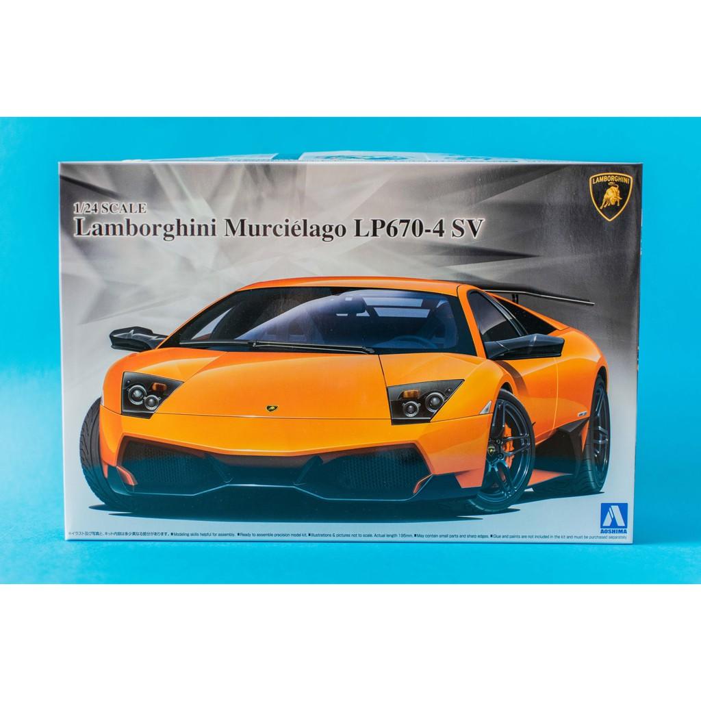 Aoshima 1 24 Scale Lamborghini Murcielago Lp670 4sv Shopee Malaysia