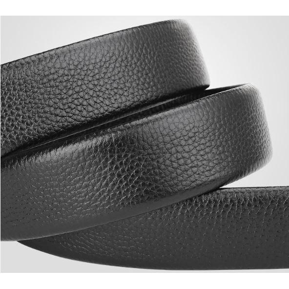 Leather Belt Genuine Cow no belt head Black / Brown Original tali pinggang kulit lembu 100% with certificate since 2017