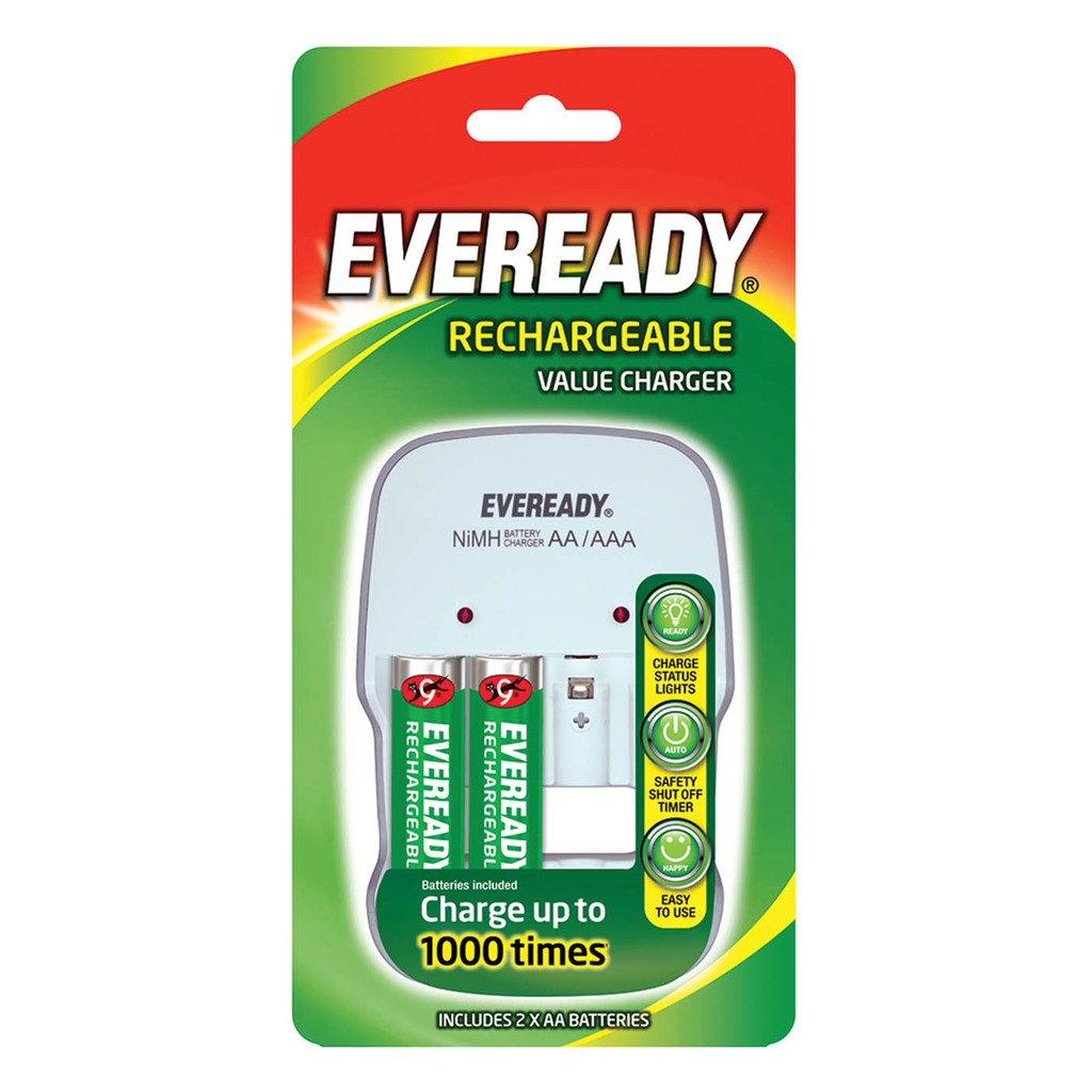 Eveready Rechargable Value Charger AA/AAA