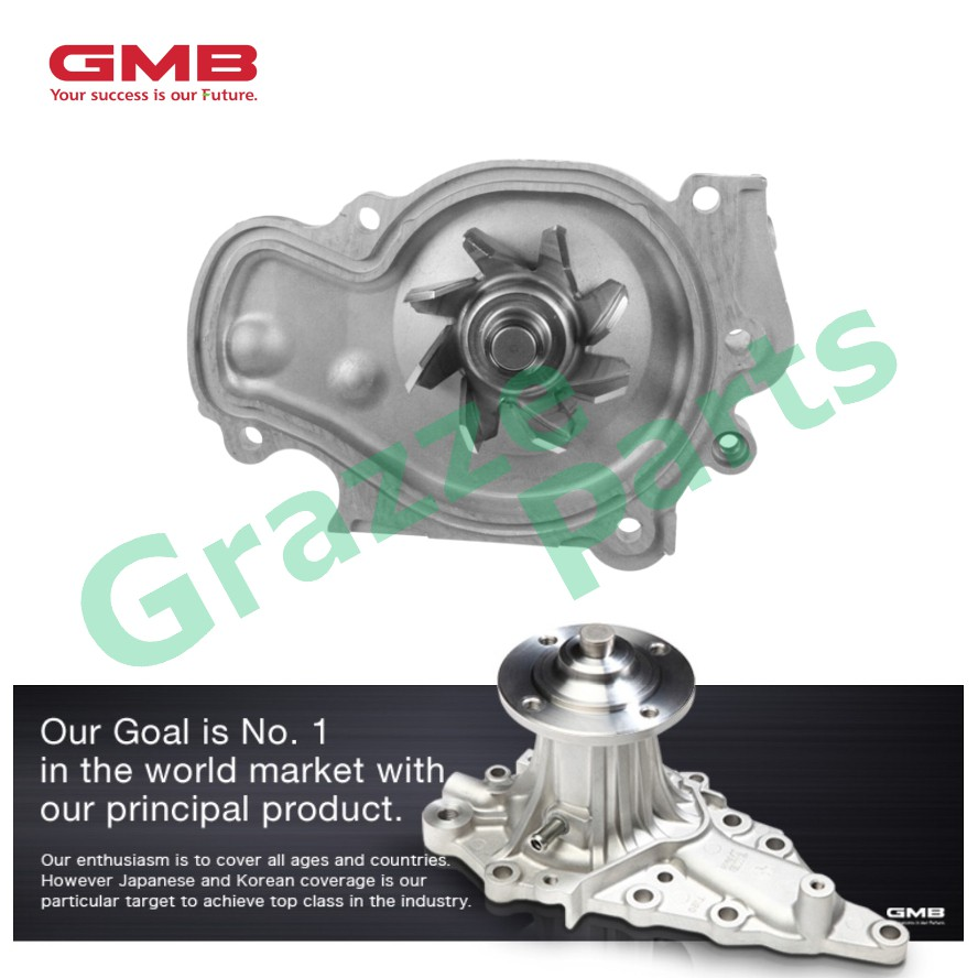 GMB Engine Water Pump GWHO-33A for Honda Accord SV4 2.2 V-Tec Prelude H22A