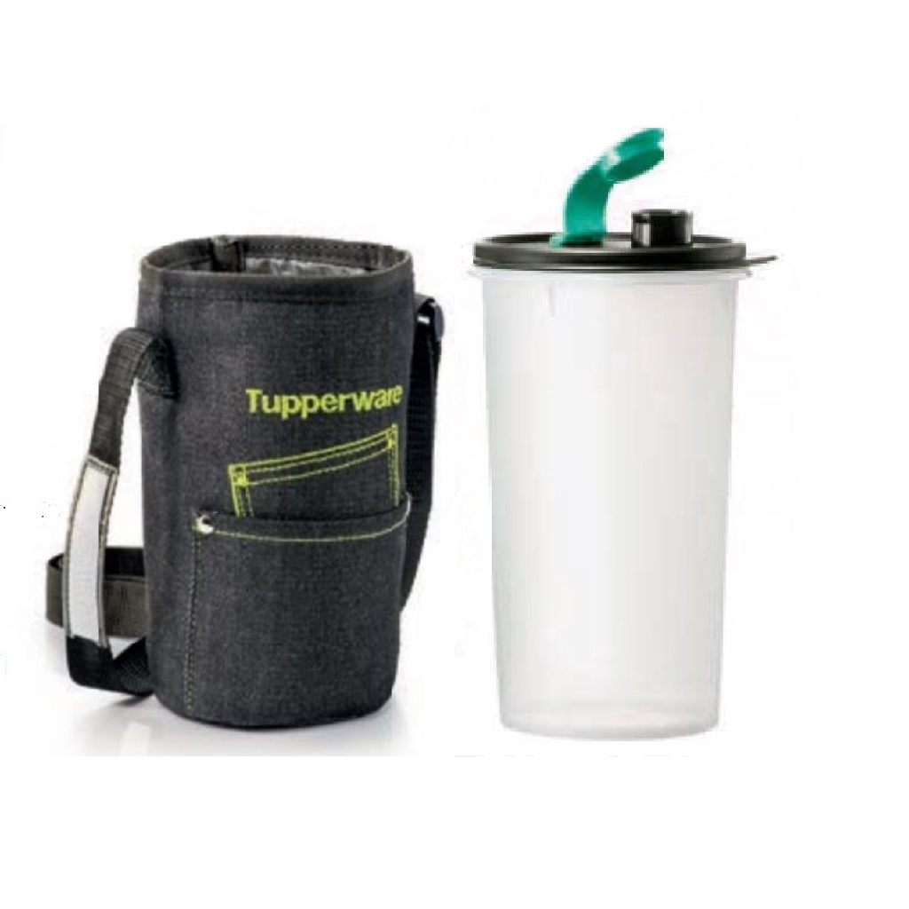 Tupperware High Handolier with Cool Jeans Pouch (1) 1.5L