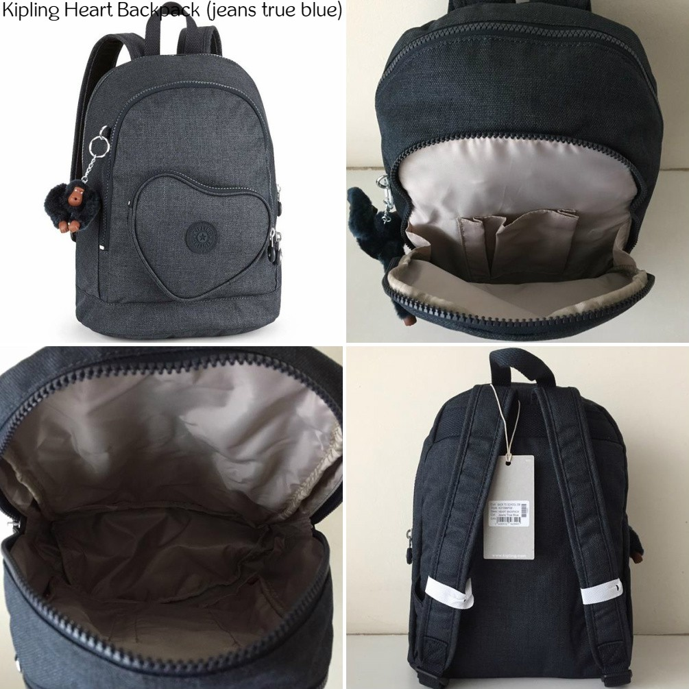 efebb9c3897 NWT Authentic Kipling Heart Backpack Kids Bagpack Children School Bag |  Shopee Malaysia